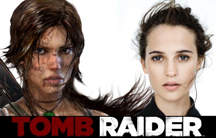 Alicia Vikander - Tomb Raider movie