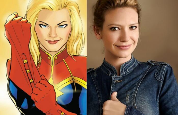 Anna Torv - Captain Marvel