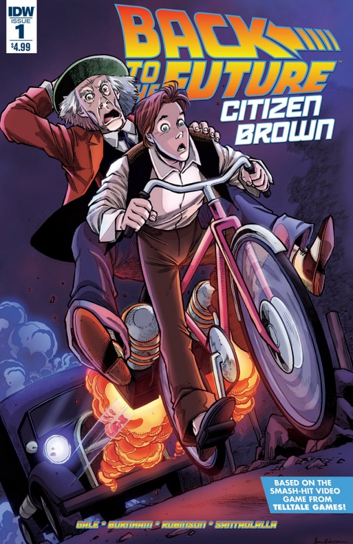 BTTF-CitizenBrown Portada de Alan Robinson