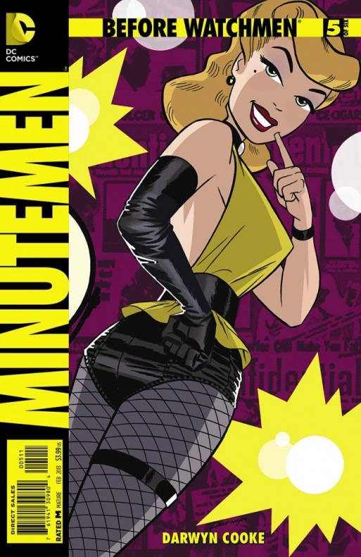 Before Watchmen Minutemen 5 Full