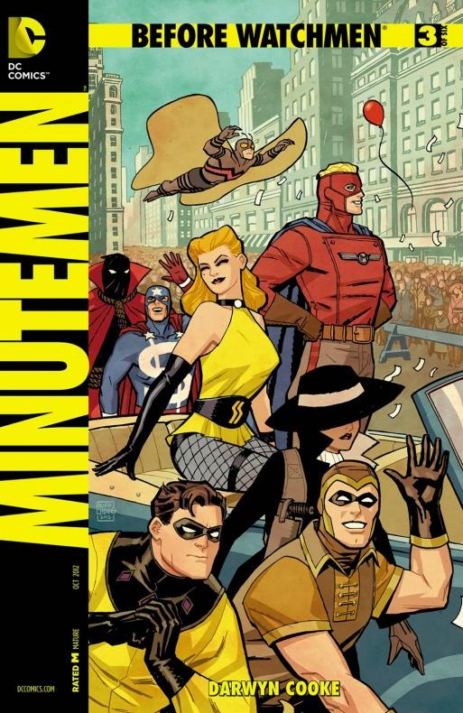 Before Watchmen Minutemen