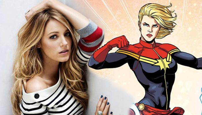 Blake Lively - Captain Marvel