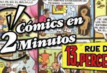 Cómics en 2 Minutos: 13 Rue del Percebe