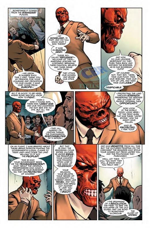 Captain America Steve Rogers Página interior (4)