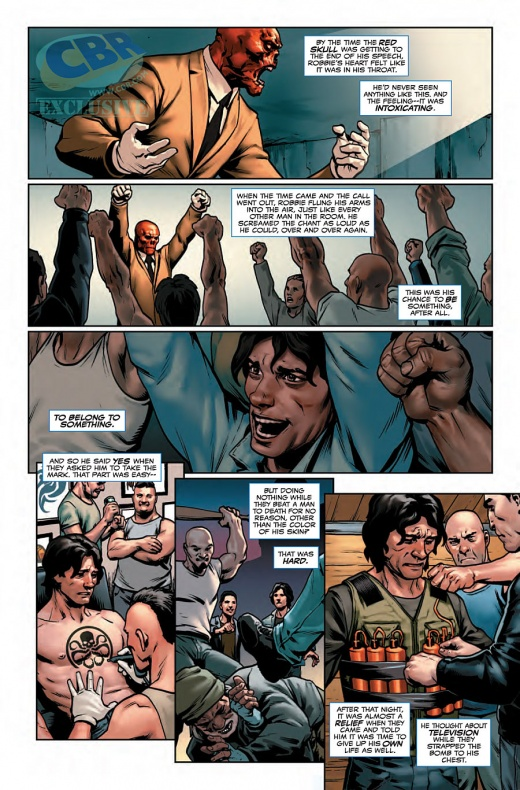 Captain America Steve Rogers Página interior (5)