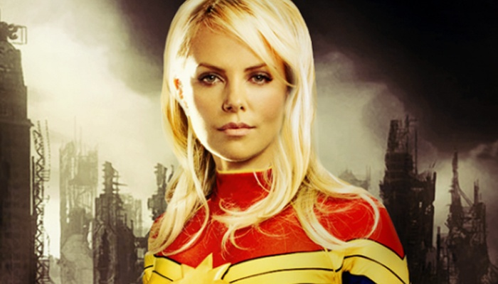 Charlize Theron - Captain Marvel