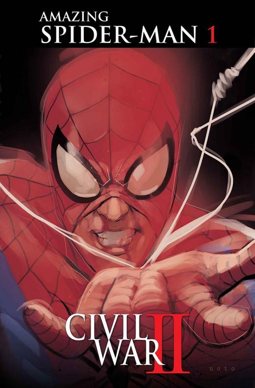 Civil War II Amazing Spider Man 1 Noto Variant bcad6