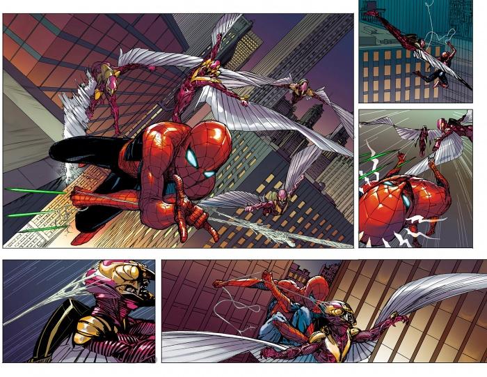 Civil War II Amazing Spider Man 1 Preview 1 ef698