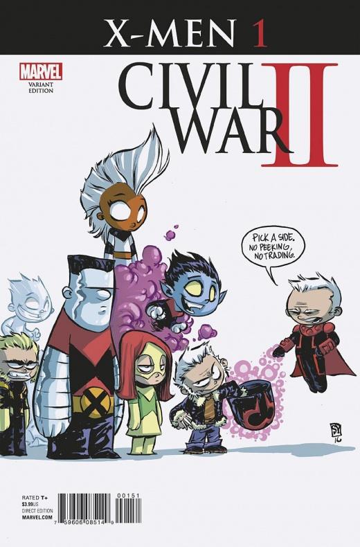 Civil War II X Men 1 Young Variant 81cae