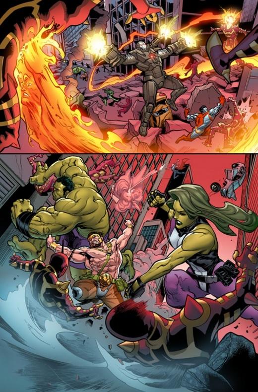 Civil War II Gods Of War 1 8