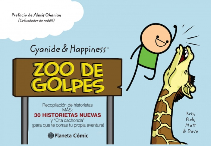 Cyanide and Happiness zoo de golpes planeta