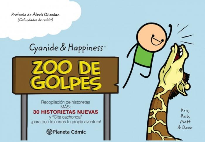 Cyanide and Happiness zoo de golpes planeta