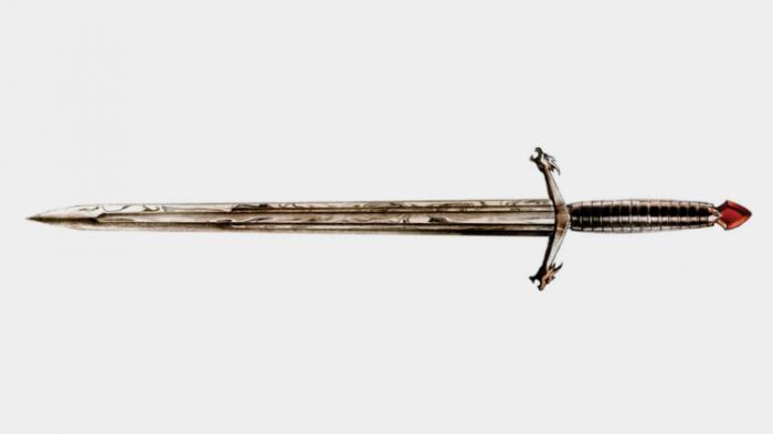 Dama Desesperada - Espada de acero valyrio de Juego de Tronos