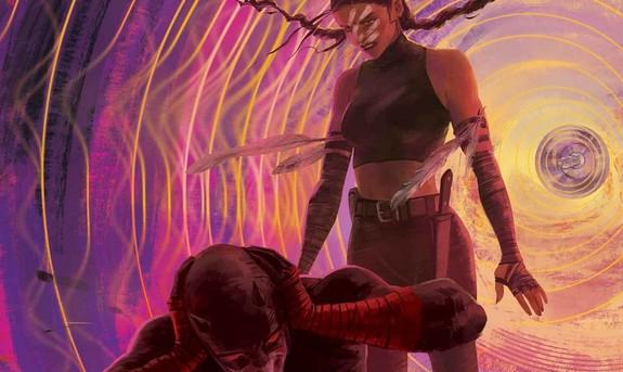 Daredevil Annual 1 cover Vanesa R Del Rey