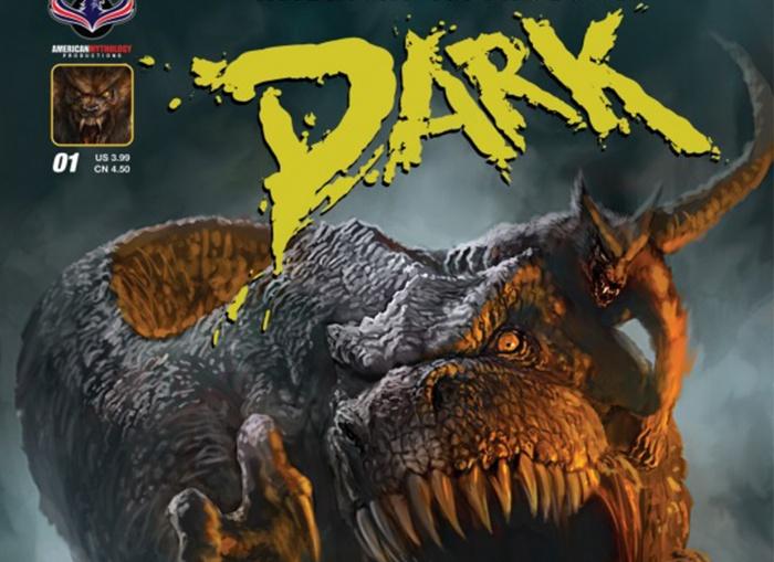 Dark Werewolfs vs Dinosaurs Destacada