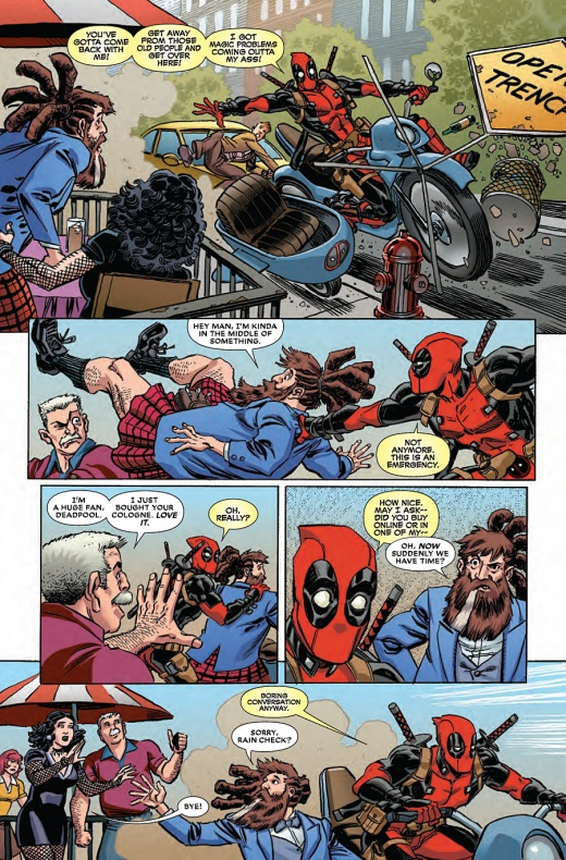 Deadpool Last Days Of Magic Página interior (3)
