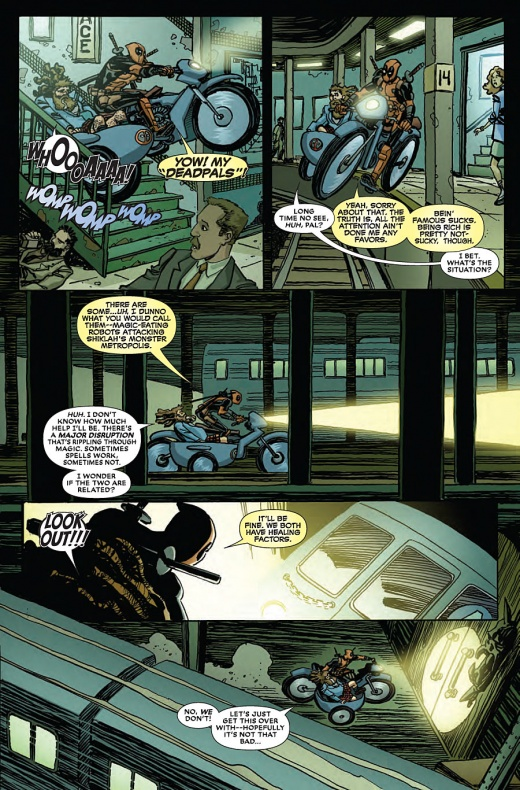 Deadpool Last Days Of Magic Página interior (4)