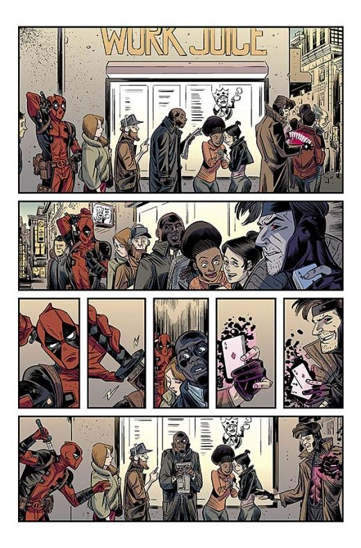 Deadpool v Gambit Página interior 1