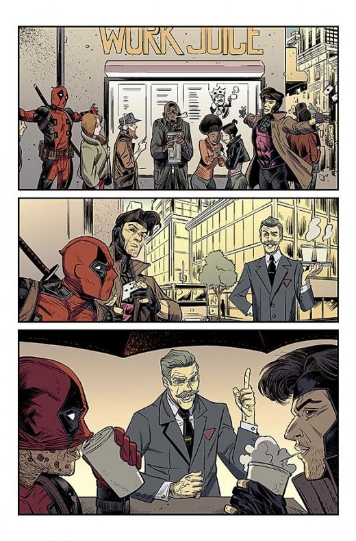 Deadpool v Gambit Página interior 3
