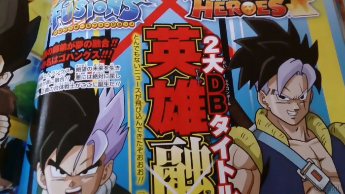 Dragon Ball Fusions Gohanks