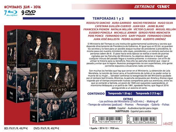 El Ministerio del Tiempo - DVD + Pack