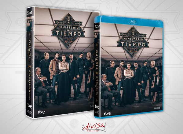 El Ministerio del Tiempo DVD