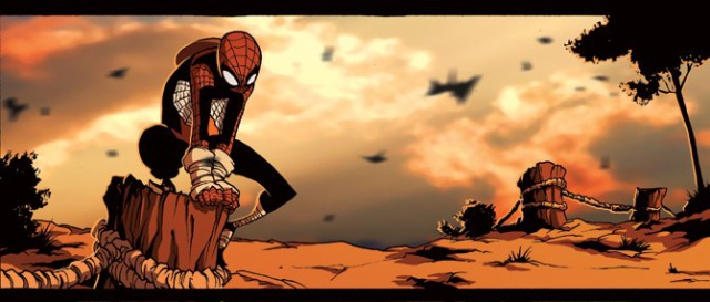 Hombre-araña-manga