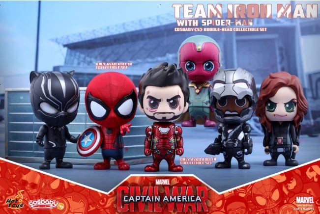 Hot Toys Team Iron Man (0)