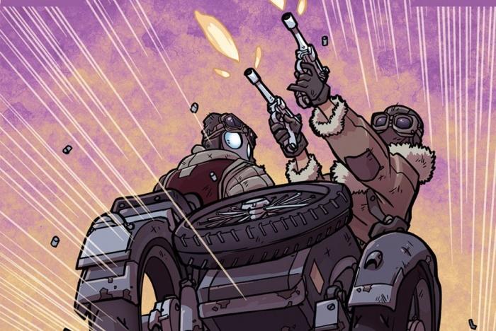 IDW Atomic Robo destacada