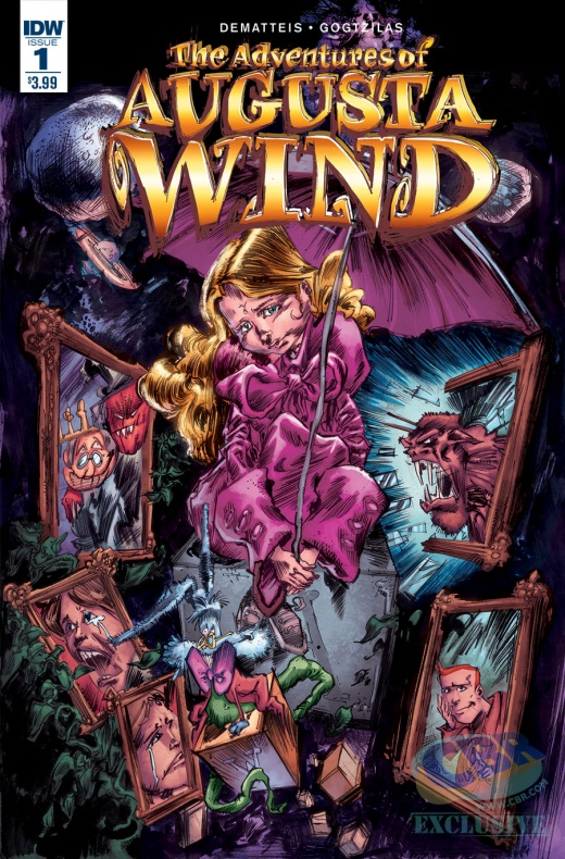 IDW The adventures of Augusta Wind