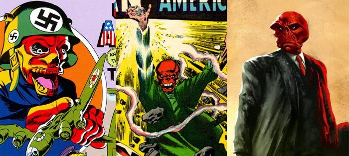 Joe Simon idea original Cráneo Rojo