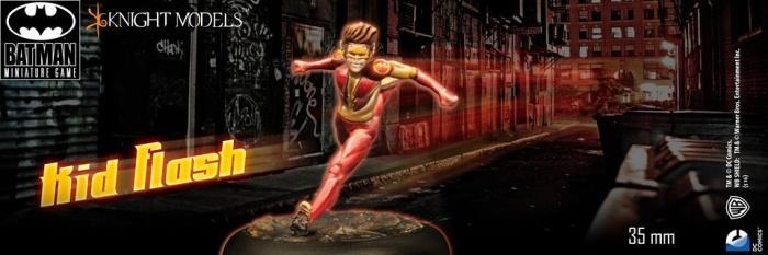 Kid-Flash Knight Models