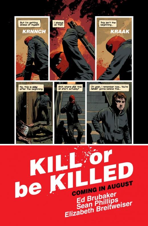 Kill Or Be Killed Página interior (6)