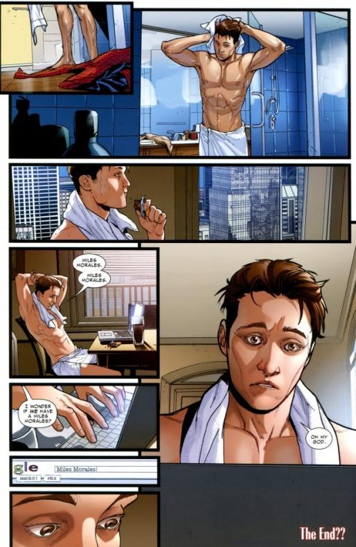 Miles Morales en Marvel 616 02