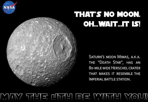Mimas Death Star Nasa