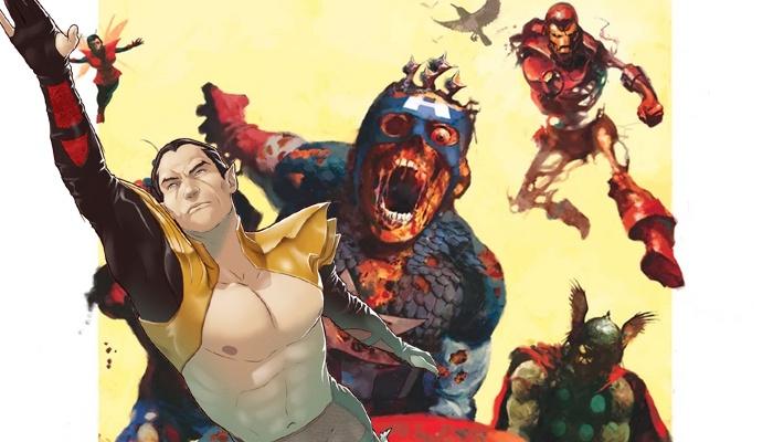 Namor Marvel Zombies