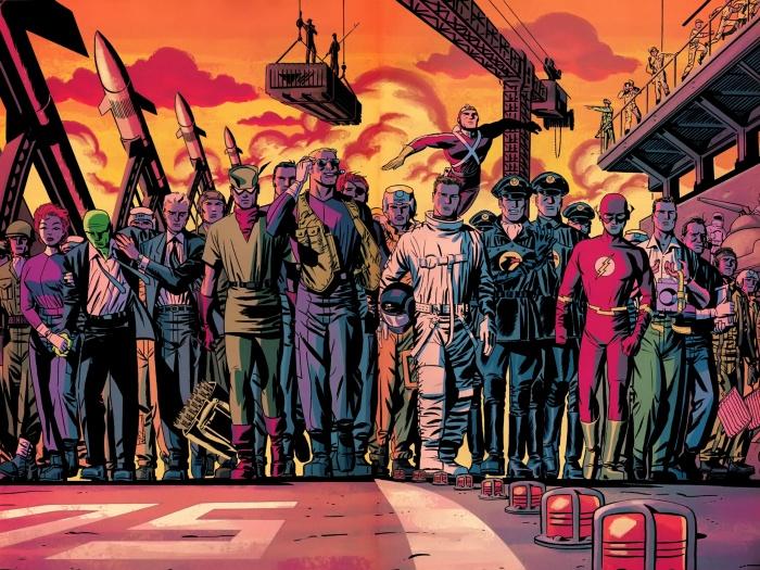 New Frontier Heroes United