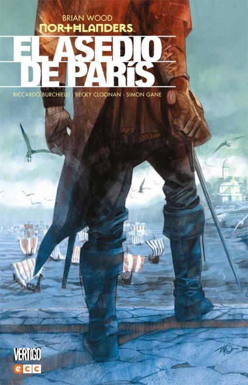 Northlanders 4 asedio paris ecc ediciones