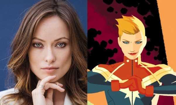 Olivia Wilde - Captain Marvel