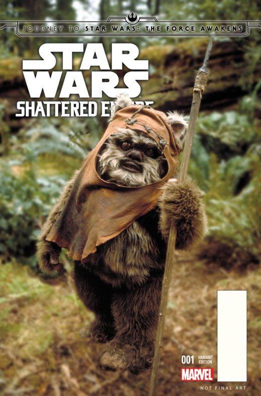 Portadas Star Wars 7
