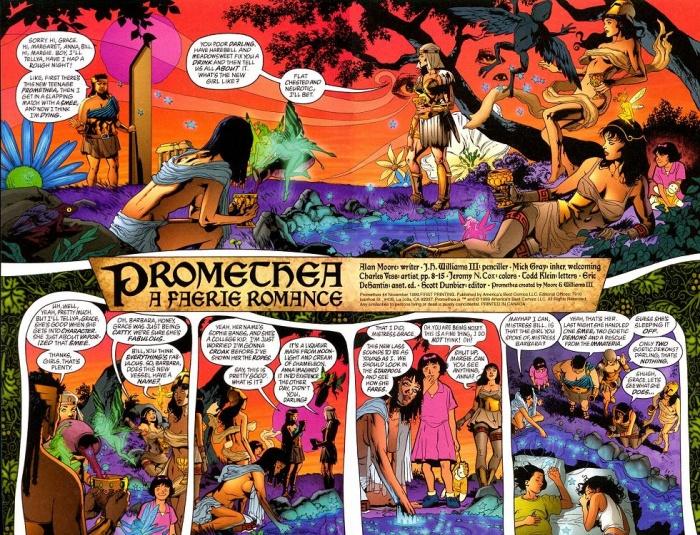 Página de Promethea
