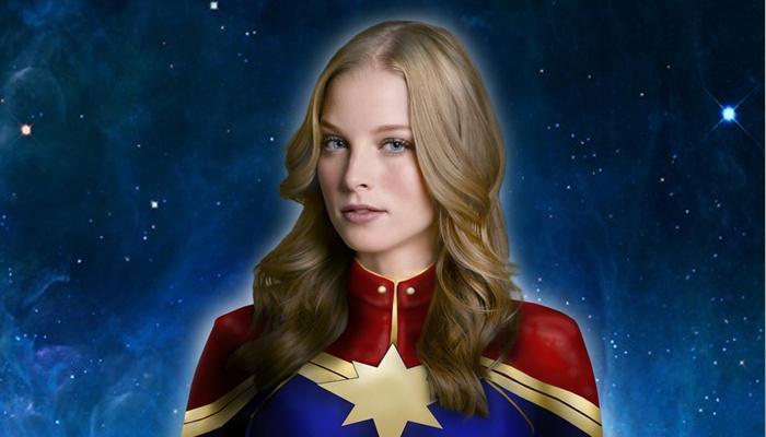 Rachel Nichols - Captain Marvel 01