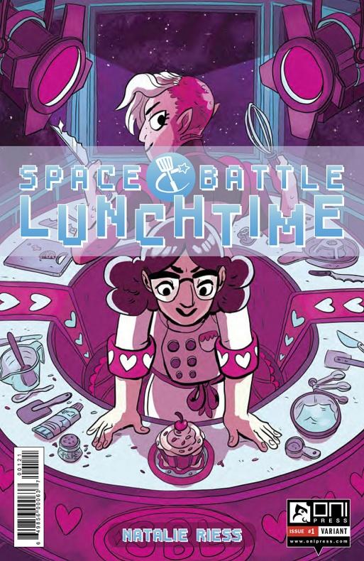 Space Battle Lunchtime Portada alternativa de Carey Pietsch