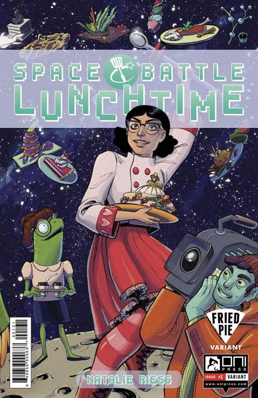 Space Battle Lunchtime Portada alternativa de Leila Del Duca