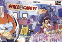 Space Battle Lunchtime Portada alternativa de Natalie Riess