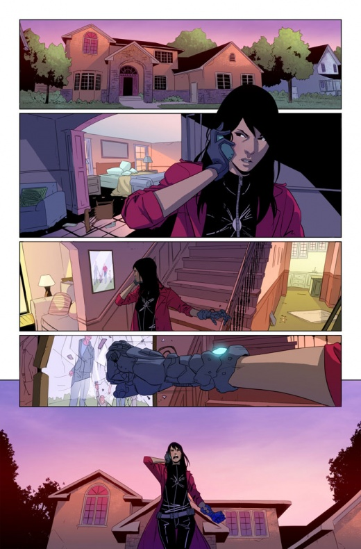 Spider-Women-Omega Página interior (1)