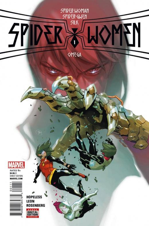 Spider-Women-Omega Portada principal de Yasmine Putri