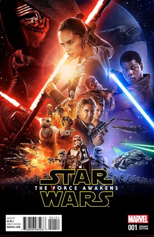 Star Wars The Force Awakens 1 Movie Variant fbea9