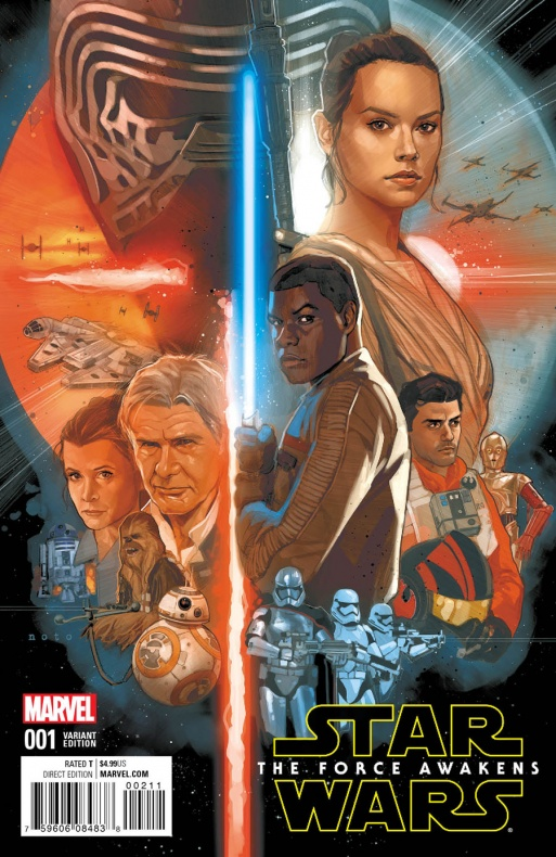 Star Wars The Force Awakens 1 Noto Variant d8be1