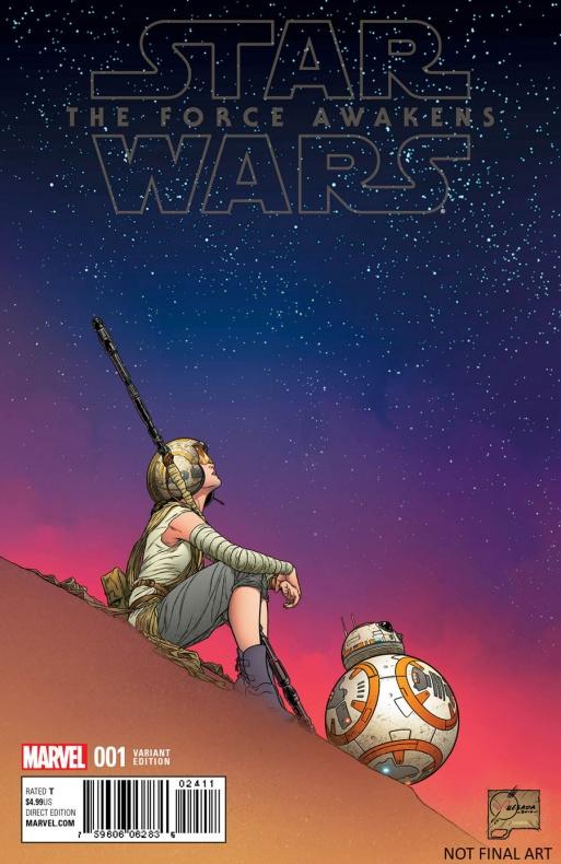 Star Wars The Force Awakens 1 Quesada Variant 62dd2